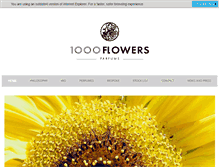 Tablet Preview of 1000flowers.ca